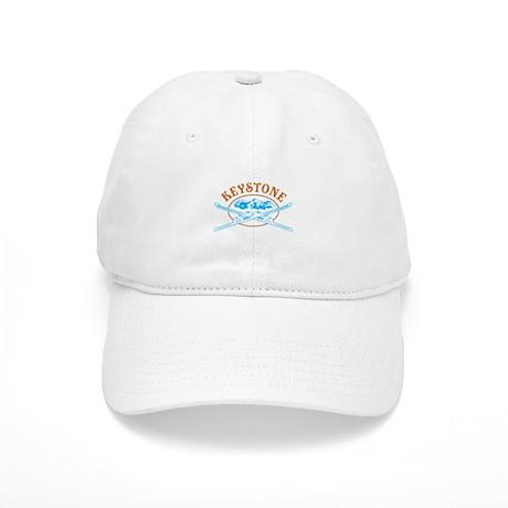 Keystone Crossed Skis Badge Cap