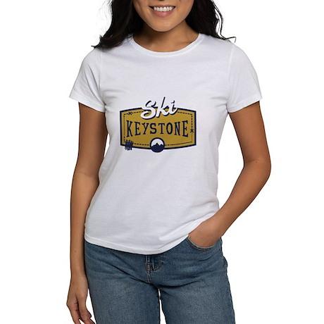 Ski Keystone Patch Women's T-Shirt