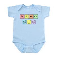 Science Rules Infant Bodysuit