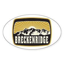Breckenridge Sunshine Patch Decal