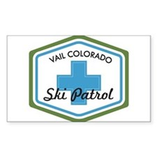 Vail Ski Patrol Badge Decal