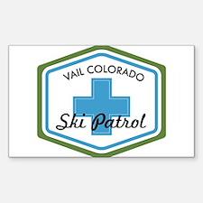 Vail Ski Patrol Badge Decal