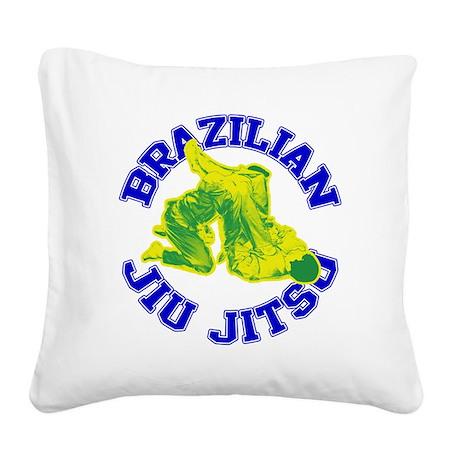 Brazilian Jiu-jitsu Square Canvas Pillow