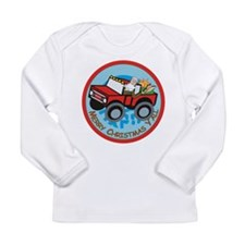 Country Santa Long Sleeve Infant T-Shirt