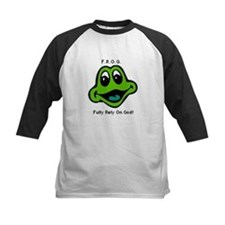 F.R.O.G. Fully Rely On God Frog Face Tee