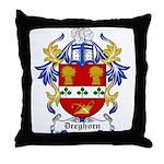 Dreghorn Coat of Arms Throw Pillow