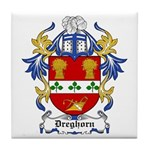 Dreghorn Coat of Arms Tile Coaster