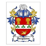Dreghorn Coat of Arms Small Poster