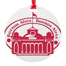 Buenos Aires Passport Stamp Ornament