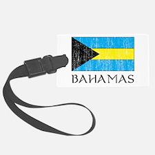Bahamas Flag Luggage Tag