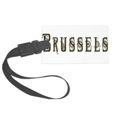 Brussels Luggage Tag