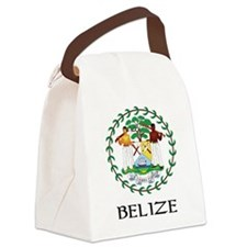Coat of arms of Belize Canvas Lunch Bag