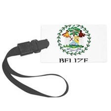 Coat of arms of Belize Luggage Tag