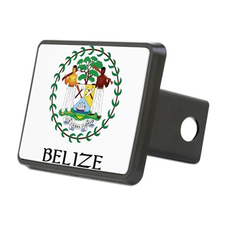 Coat of arms of Belize Rectangular Hitch Cover