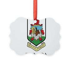 Coat of Arms Bermuda Ornament