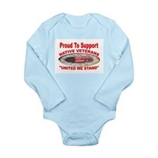 NATIVE VETERAN ACCESSORIES Long Sleeve Infant Body