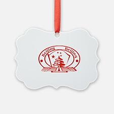 Beijing Passport Stamp Ornament