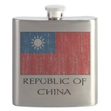Republic of China Flag Flask