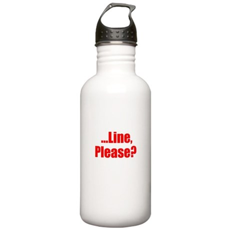 Line Please? Stainless Water Bottle 1.0L