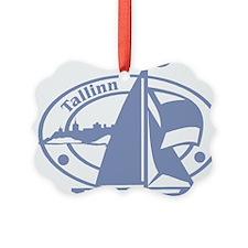 Tallinn Passport Stamp Ornament