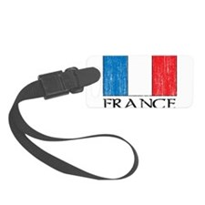 France Flag Luggage Tag