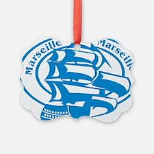 Marseille Passport Stamp Ornament