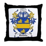 Downie Coat of Arms Throw Pillow
