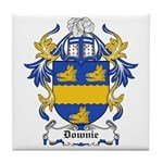 Downie Coat of Arms Tile Coaster