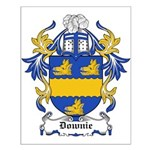 Downie Coat of Arms Small Poster