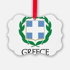Coat of Arms of Greece Ornament