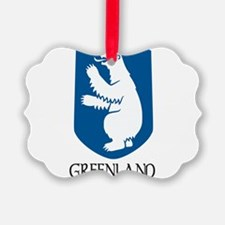 Coat of arms of Greenland Ornament