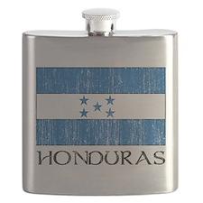 Honduras Flag Flask