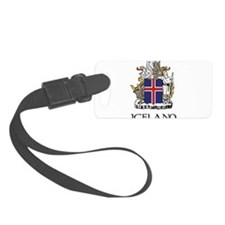 Coat of Arms of Iceland Luggage Tag