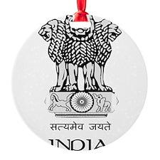 Emblem of India Ornament