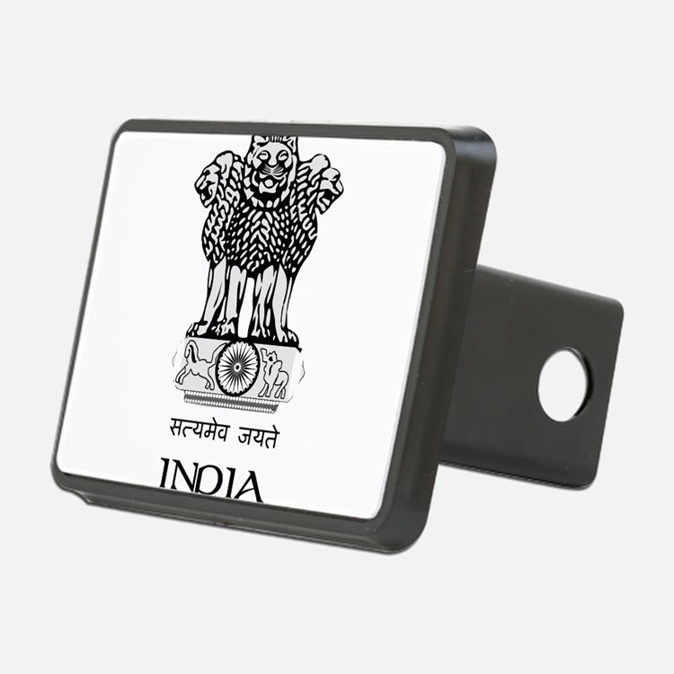 Emblem of India Hitch Cover