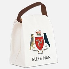 Isle of Man coat of arms Canvas Lunch Bag