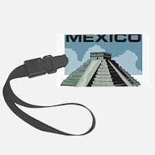Mexico Pyramid Luggage Tag
