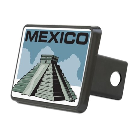 Mexico Pyramid Rectangular Hitch Cover