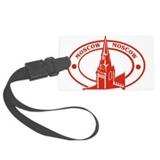 Moscow Passport Stamp Luggage Tag