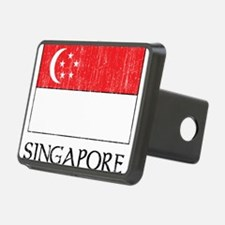 Singapore Flag Hitch Cover