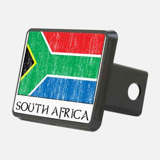 South Africa Flag Hitch Cover