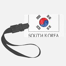 South Korea Flag Luggage Tag
