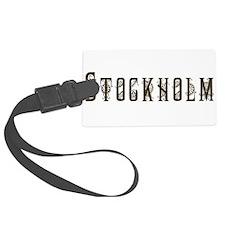 Stockholm Luggage Tag