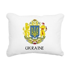 Coat of Arms of Ukraine Rectangular Canvas Pillow