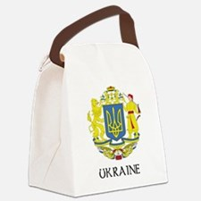 Coat of Arms of Ukraine Canvas Lunch Bag