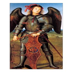 Archangel Michael Unframed Print