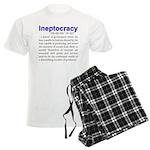 Ineptocracy Men's Light Pajamas
