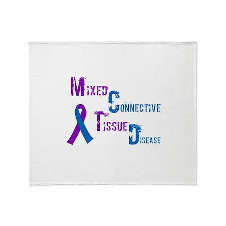 MCTD Awareness Throw Blanket
