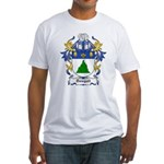 Dobbie Coat of Arms Fitted T-Shirt
