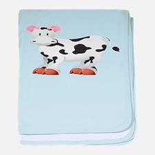 Cute Cow Shirt baby blanket